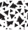 infinite background with triangles vector image vector image