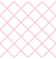 Pink White Grid Chess Board Diamond Background vector image vector image