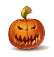 Pumpkins Scary 2 vector image vector image