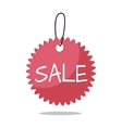 Sale Tag in Flat Design vector image vector image