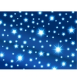 space with stars vector image