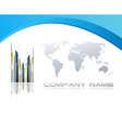 Abstract corporate background vector image