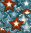 blue stars seamless vector image vector image