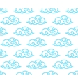 clouds seamless background vector image vector image