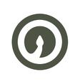 Cobra Snake head volume logo minimalism vector image vector image