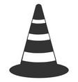cone icon vector image vector image