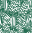 green abstract seamless background striped vector image vector image