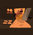 halloween holiday comes to us vector image