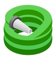 Hose isometric 3d icon vector image vector image