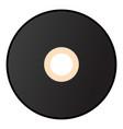 retro vinyl record disk vector image