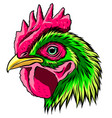 roostera handdraw and sketch in vector image vector image