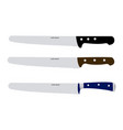 pastry knives vector image