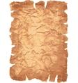 Old paper sheet vector image