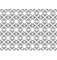 black and white background with black and white fl vector image vector image