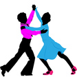 children dancing vector image