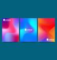 Design template in trendy vibrant gradient
