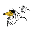 Egyptian Vulture vector image vector image