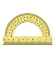 plastic angle ruler icon realistic style