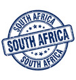 south africa stamp vector image vector image