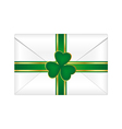 st patricks envelope vector image