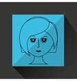 woman avatar design vector image vector image
