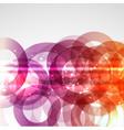 abstract circles 0207 vector image