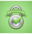 Combination lock sign vector image vector image
