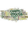 esl exams a teacher s guide text background word vector image vector image