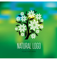 Natiral Logo 08 vector image vector image
