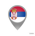 serbia point vector image vector image