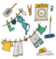 set of clothes vector image vector image