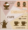 Theme of coffee vector image vector image