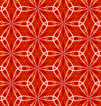 Seamless flower dance pattern vector image