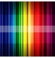 Abstract retro rainbow stripes background vector image vector image