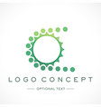 biking logo and text for designs vector image