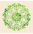 Circle ornament vector image vector image