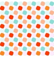 Colorful Rounded Squares Pattern vector image