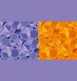 cool and fun geometric seamless pattern vector image