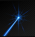 creative of laser security vector image