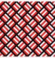geometrical seamless pattern - square background vector image vector image