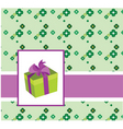 gift packaging vector image vector image