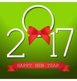 Happy New Year Background for your Flyers and vector image vector image