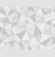 polygonal mosaic abstract vector image vector image