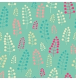 Tender seamless pattern with twigs and berries vector image vector image