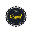 vintage quality badge theme vector image vector image