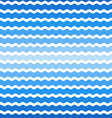 wave blue gradient background seamless pattern vector image vector image
