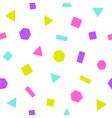 bright geometric figures vector image vector image