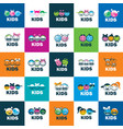 icon kids vector image vector image