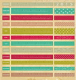 Vintage calendar for 2015 vector image