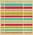 Vintage calendar for 2015 vector image vector image